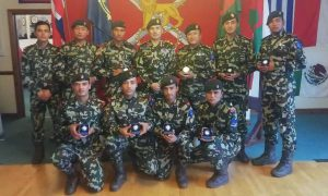 Nepal Army soldiers win gold medal in British military exercise