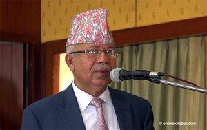 Madhav Kumar Nepal for demolishing Republic Memorial at Narayanhiti