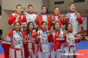 SAG: Nepal crosses highest gold medal record