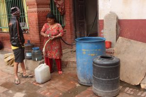 Thirsty Kathmandu waits for water that never arrives