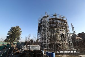 'New Dharahara is not Dharahara, but view tower without use'