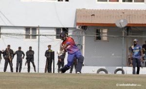 SAG cricket: Nepali men lose to Sri Lanka