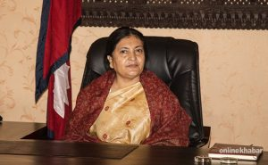 President Bhandari meets Oli and Dahal, one after another, as NCP dispute persists