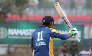 Gyanendra Malla sets fastest century record in Nepali cricket