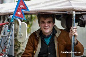 Watch: 'Tuk Tuk Guy' on journey from Bangkok to Belgium arrives in Kathmandu