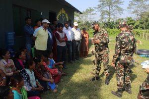 Civil-military relations transform in Nepal's Chitwan Park