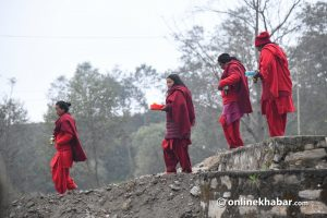 The story behind Swasthani devotees' long walks from Sankhu to Pharping and Panauti