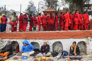 Away from home, Swasthani devotees suffer a lot, but they are hopeful and happy