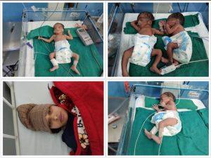 Syangja woman gives birth to quadruplets