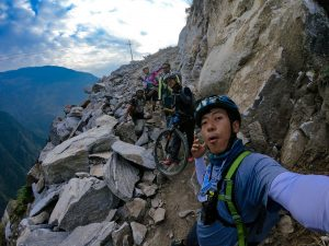 Slugging it out on two wheels: the Langtang ride I