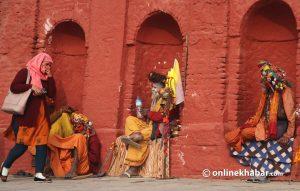 Photo feature: Varied interests of sadhus have made Pashupati area colourful on Shivaratri