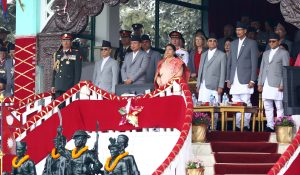 Nepal Army Day marked with fanfare