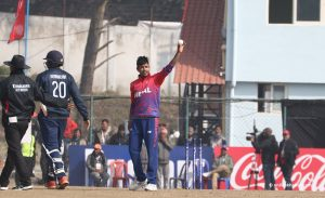 ICC WC League 2: Lamichhane leads Nepal to eight-wicket victory over US