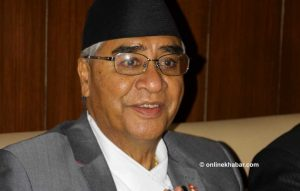 Deuba tells govt to make medical equipment purchase transparent