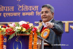 Minister Baskota warns Nepal Telecom staff against protest