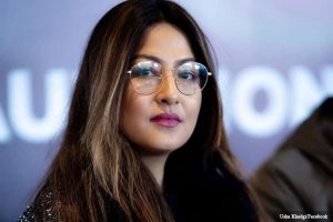 Model Usha Khadgi announces the end of her marriage
