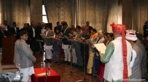 New National Assembly members take oath