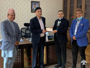 Himalaya Airlines donates Rs 10 million to govt Covid-19 fund