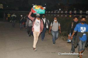 How long should the lockdown continue in Nepal?