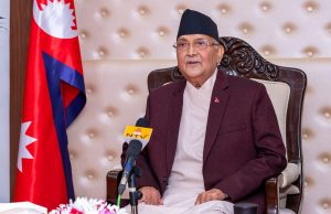 PM Oli says he will give up his salary till the end of Covid-19 pandemic