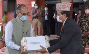 India gifted some medicines to Nepal, but two of them are not approved