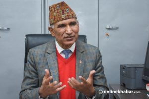 Paudel says Oli'll resign neither from chairmanship nor premiership