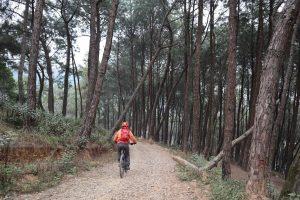 Cycling from Bhim Dunga via Switzerland Park to Kalu Pandey Memorial Ground (Part I)