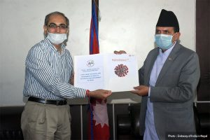 India donates 30,000 PCR kits to Nepal