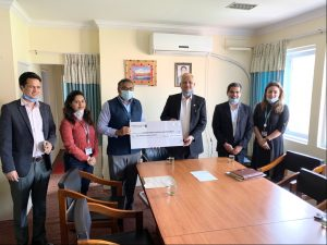 Standard Chartered Bank donates Rs 11.6 million to govt Covid-19 fund