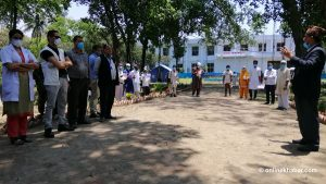 Eight more Covid-19 patients achieve recovery in Biratnagar