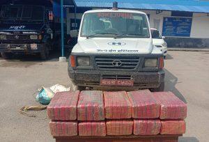 Birgunj: Ambulance used to smuggle marijuana