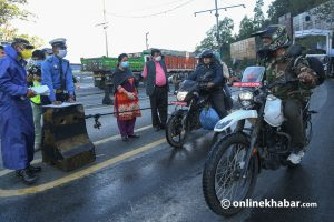 Govt introduces new rule on coming into and leaving Kathmandu