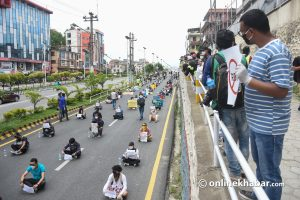 Enough Is Enough activists to resume street protests Tuesday