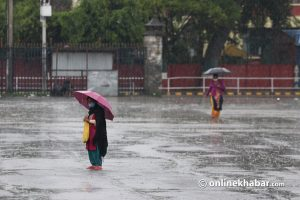 'No heavy rainfall in Nepal before weekend'
