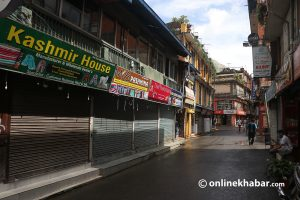 Thamel awaits tourists, but traders want to quit before their arrival