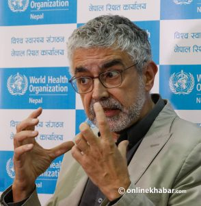 WHO Nepal chief: Instead of more tests, Nepal should focus on improving quarantine facilities