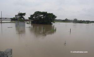 Biratnagar settlement inundated; locals blame Indian dam