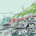 Gorkha truck accident kills 1, injures 2