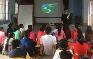 Stories of nature, children, and Covid-19 lockdown: A storyteller's story