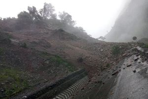 Efforts underway to reopen landslide-blocked roads