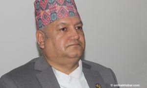 Sunil Bahadur Thapa, 29 others leave RPP, to join Nepali Congress