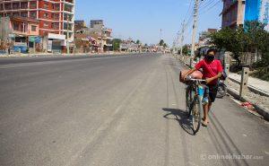 Biratnagar goes on lockdown again for two weeks