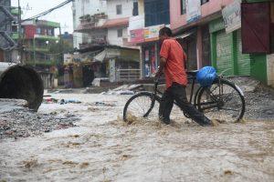 Frequent floods in Kathmandu suburbs expose community leaders' shortsightedness, inefficiency