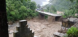 Prithvi Highway obstructed as Mauwakhola bridge collapses