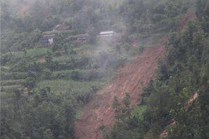 Five families missing in Sindhupalchok landslide