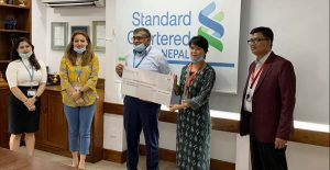 Standard Chartered provides Rs 17.9 mln to Action Aid International-Nepal