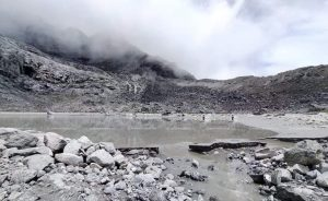 Chokarma glacial lake bursts in Everest region