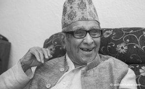 Rastrakavi Madhav Prasad Ghimire dies at 101