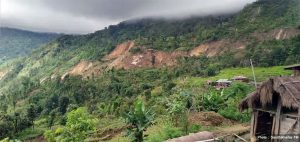 Landslide destroys 6 houses in Arghakhanchi, other 20 at risk