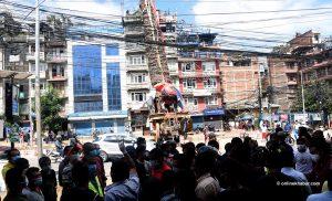 Rato Machhindranath Jatra: Symbolic chariot-pulling today